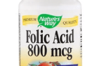 10 лучших пищевых добавок с фолиевой кислотой на Айхерб — рейтинг 2020