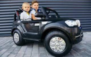 15 лучших детских электромобилей — рейтинг 2020