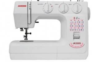 5 лучших швейных машин Janome — рейтинг (Топ-5)