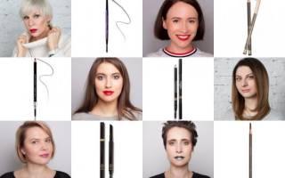 15 лучших карандашей для бровей — рейтинг 2020