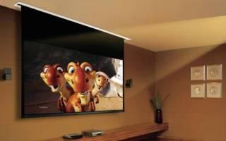 5 лучших экранов для проекторов — рейтинг 2020