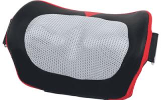 10 лучших массажных подушек — рейтинг 2020