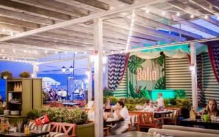 10 лучших кафе и ресторанов Адлера – рейтинг 2020