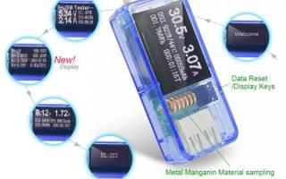 10 лучших USB тестеров с АлиЭкспресс — рейтинг 2020