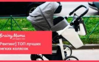 15 лучших лёгких колясок– рейтинг 2020