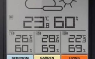 10 лучших домашних метеостанций — рейтинг 2020