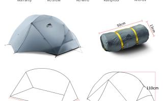 20 лучших палаток с АлиЭкспресс – рейтинг 2020