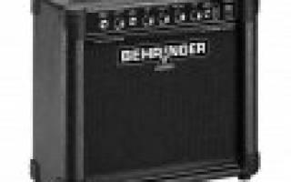 10 лучших комбоусилителей для гитар — рейтинг (Топ-10)