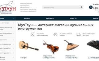 10 лучших интернет-магазинов музыкальных инструментов — рейтинг 2020