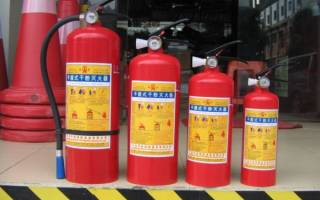 15 лучших огнетушителей – рейтинг 2020