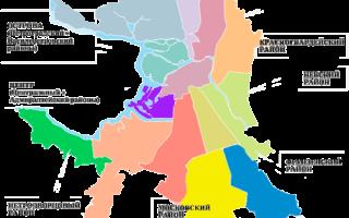 5 лучших районов Санкт-Петербурга для проживания – рейтинг 2020